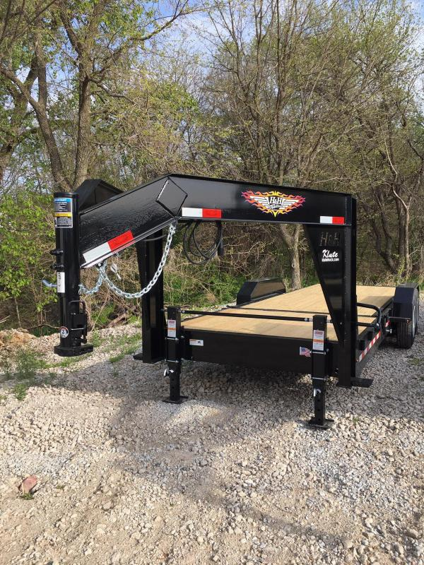 2020 H and H Trailer 16+6 GTL GOOSENECK 16K