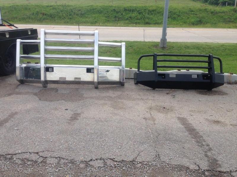 Truck Defender Aluminum Bumpers