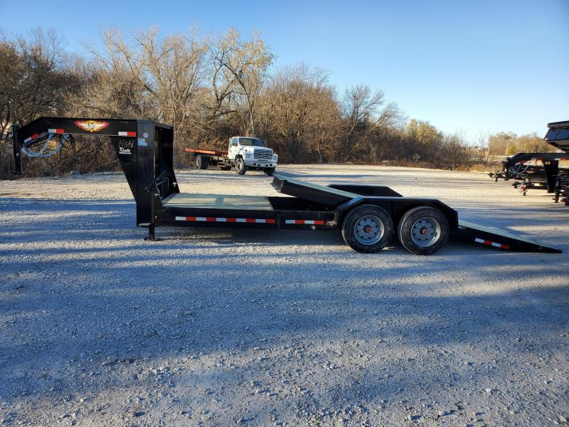 2021 H and H Trailer 82x16+6 Gooseneck Gravity Tilt Equipment