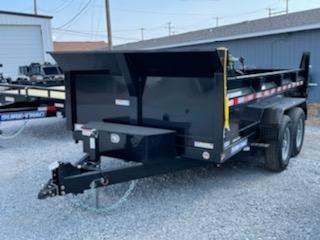 2021 Sure-Trac 82x12 12K HD Low Profile Dump (Scissor Hoist) Dump Trailer