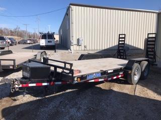 2013 Load Trail 16+2 Equipment Trailer