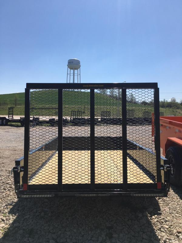 2021 H and H Trailer 66X10 STEEL SOLID SIDE 3.5K