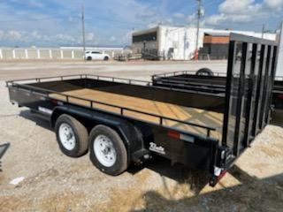 2021 Sure-Trac 7x16 Steel High Side Utility Trailer 7K