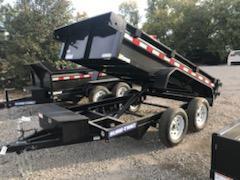 2021 Sure-Trac 5 X 10 7K Low Profile Homeowner Dump Trailer