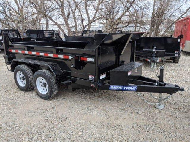 2020 Sure-Trac 6 X 10 7K SD Low Profile Dump Trailer