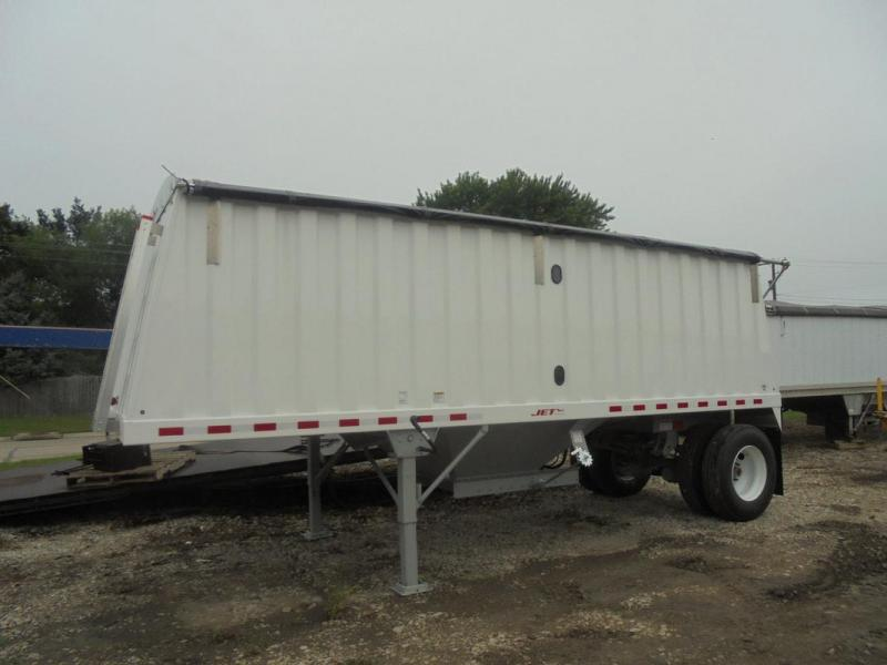 Jet Co 22' Single Hopper Steel Grain Trailer