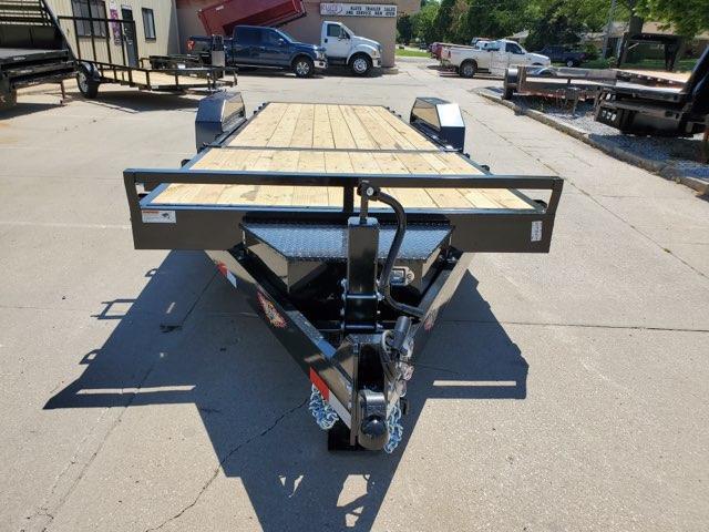 2021 H and H Trailer 82x16+6 Gravity Tilt Equipment Trailer 16K