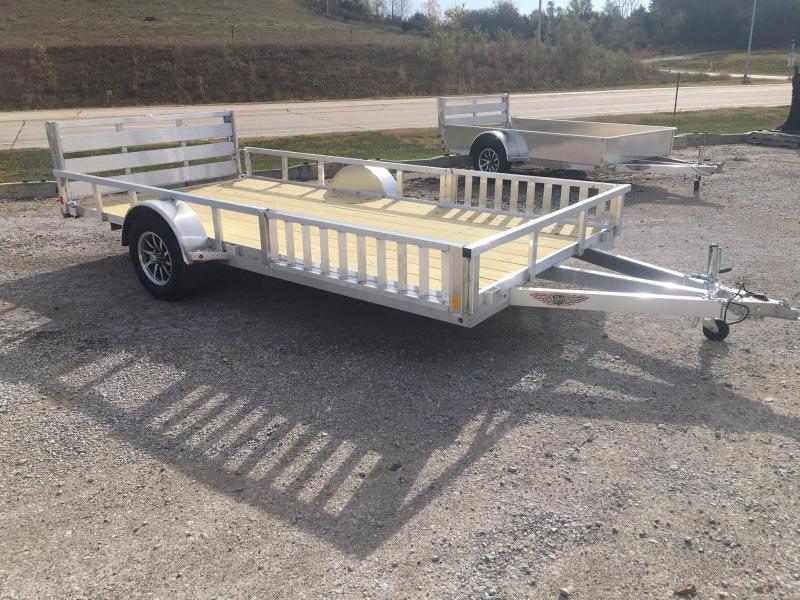 2021 H and H Trailer 8.5(82)X14 RAILSIDE ALUM ATV 3K