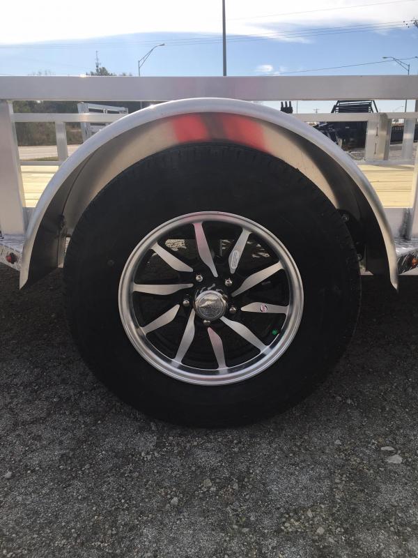 2021 H and H Trailer 8.5(82)X14 RAILSIDE ALUM ATV 3K