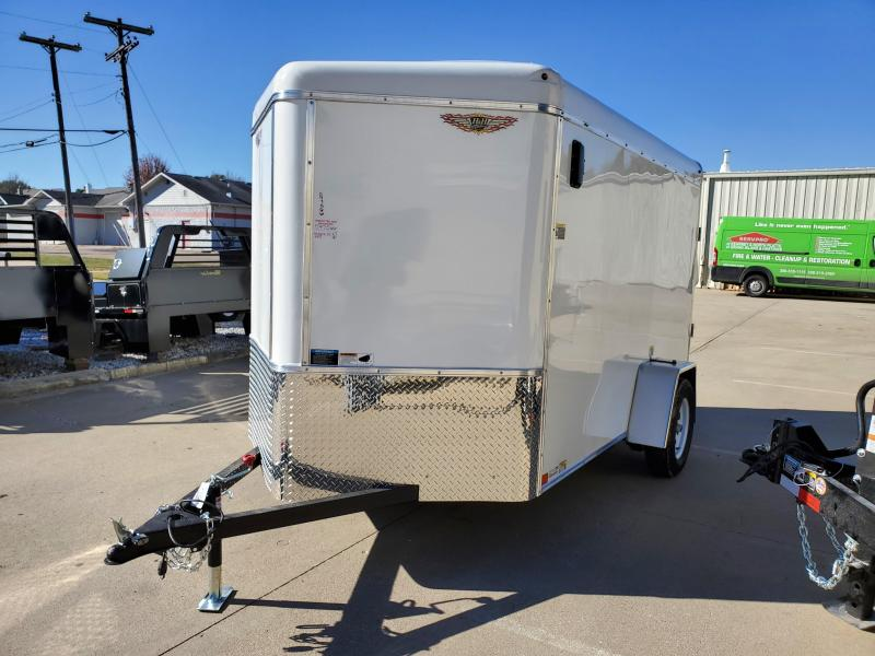 2021 H and H Trailer 6x10 HH Series Round Top V-Nose Enclosed
