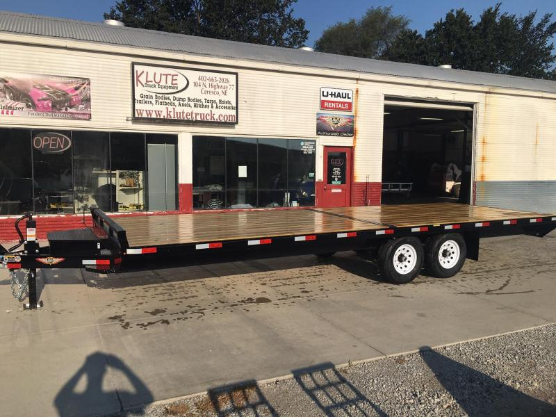 2021 H and H Trailer 102X24 14K STANDARD DUTY DECKOVER