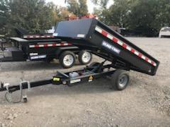 2021 Sure-Trac 4.5 X 8 Utility Dump Trailer