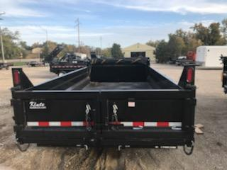 2021 Sure-Trac 82 x 14 14K HD Low Profile (Scissor) Dump Trailer
