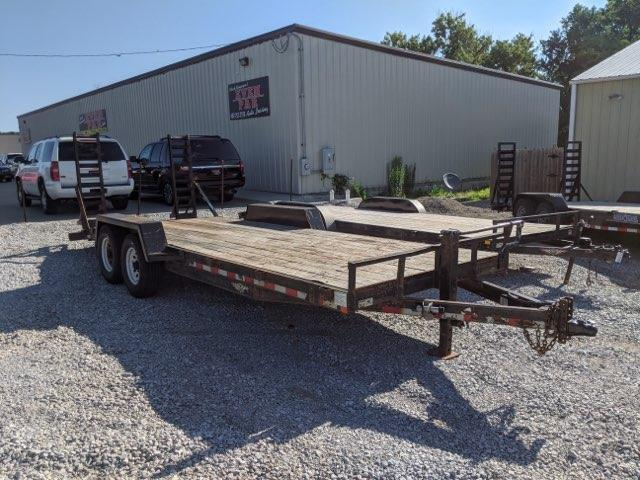 2009 H and H Trailer 20' Industrial Equipment Trailer