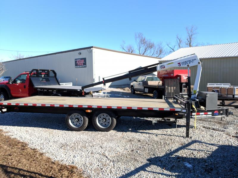 2020 Nation Tank and Trailer 101 x 20 Crane Trailer