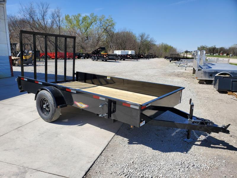 2020 H and H Trailer 76X12 STEEL SOLID SIDE 5K