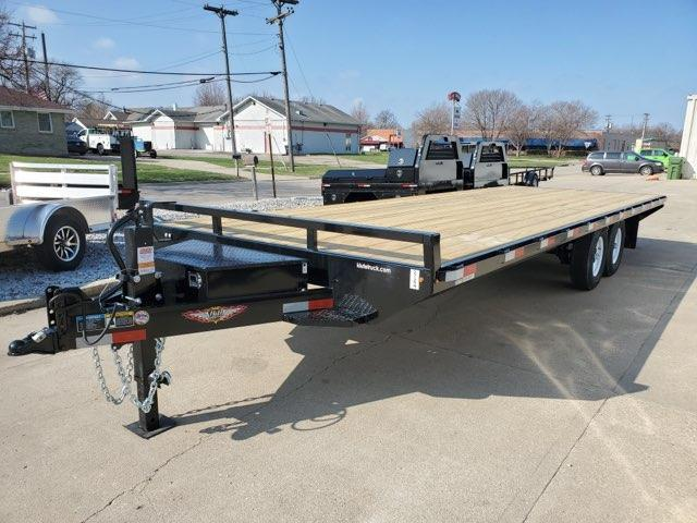 2021 H and H Trailer 102x24 Standard Duty Deckover Trailer  1