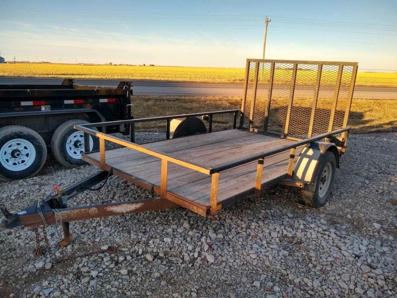 2016 H and H Trailer 76x12 Utility Trailer