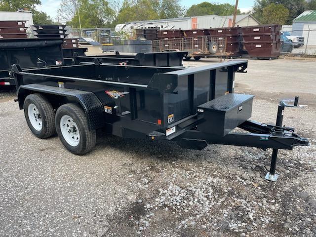 2022 H and H Trailer 62x10 Utility Dump Trailer  7K Single Ra