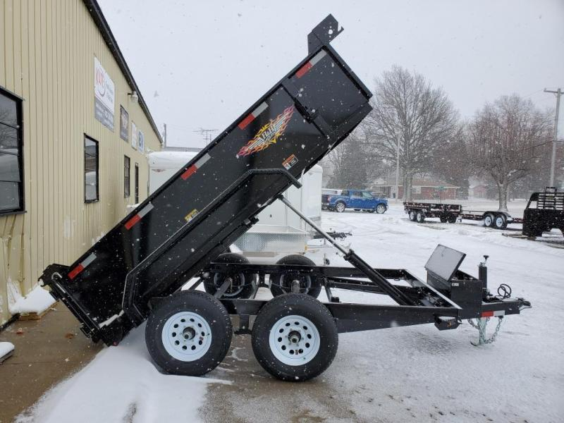 2021 H and H Trailer 76x10 Utility Dump Trailer  10K Single R