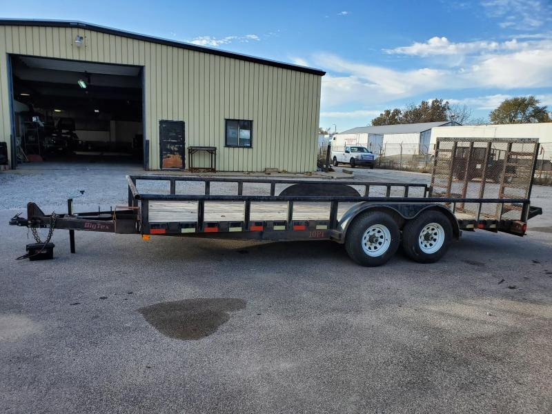 2000 Big Tex Trailers 83X18 Railside Utility Trailer