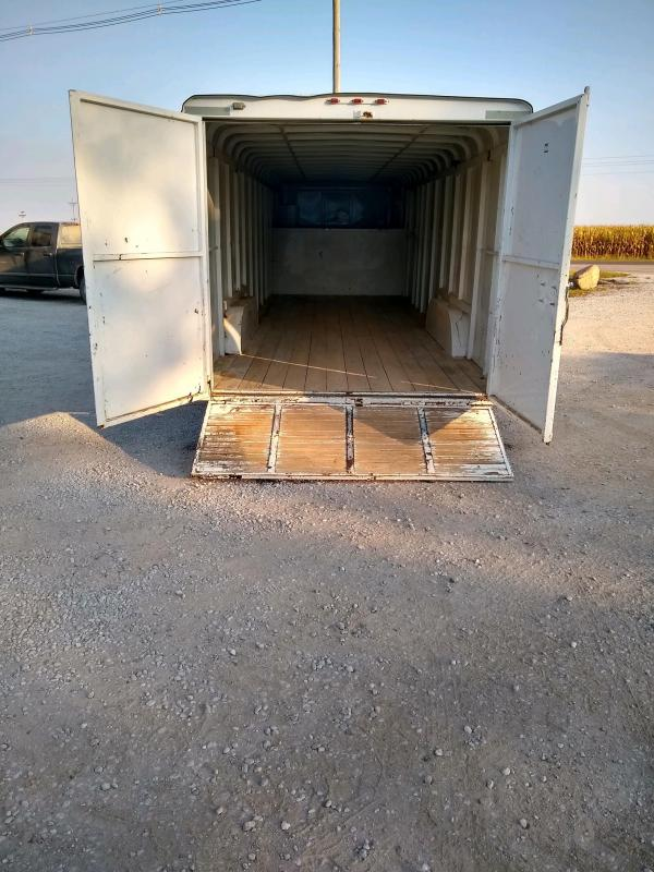2011 W-W Trailer 8x24 GN Enclosed Cargo Trailer