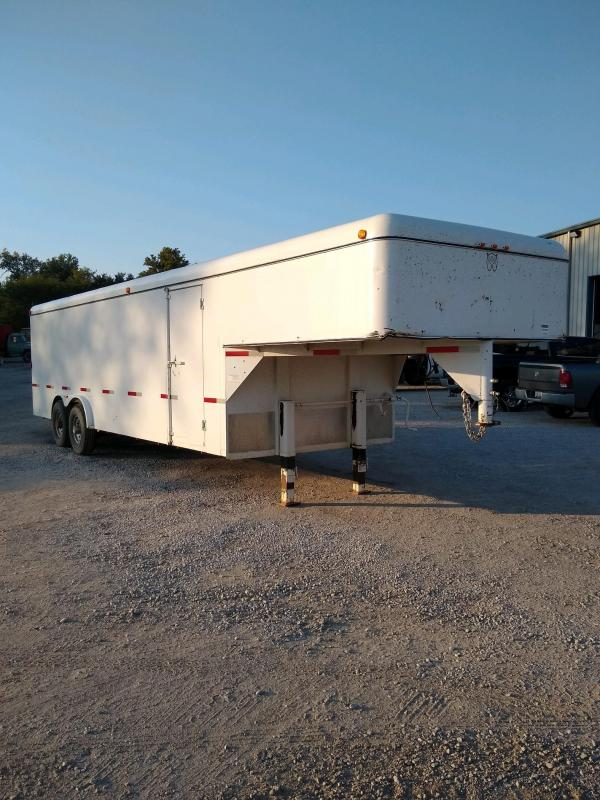 2011 W-W Trailer 8x24 GN Enclosed Cargo Trailer