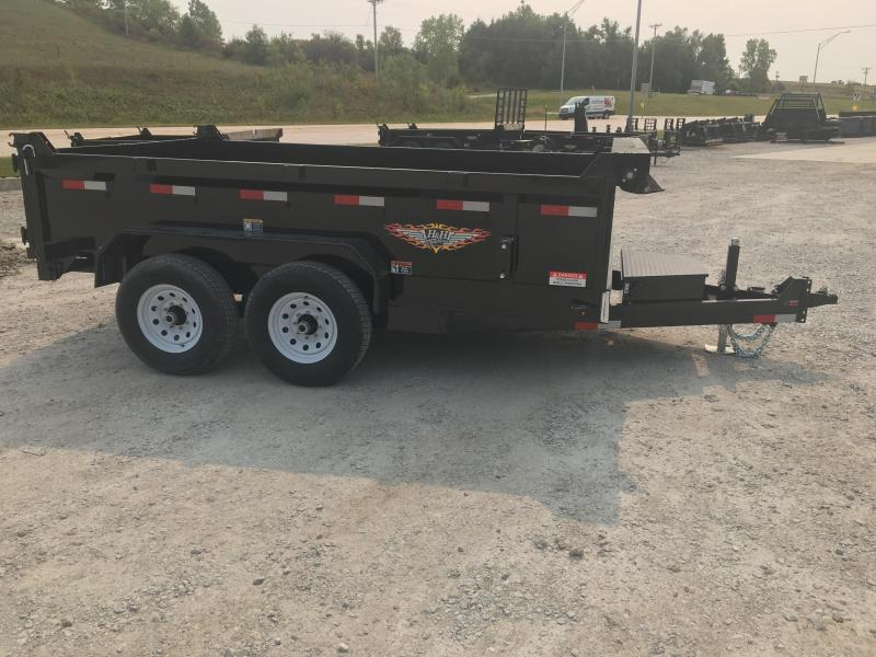 2021 H and H Trailer 83X12 DBW DUMP BOX 14K