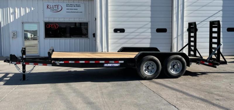 2021 Sure-Trac 16+2 14K Equipment Trailer