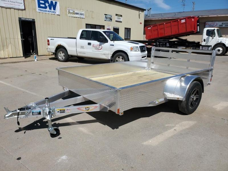2020 H and H Trailer 76x10 Aluminum Solid Side 3K Utility Trailer