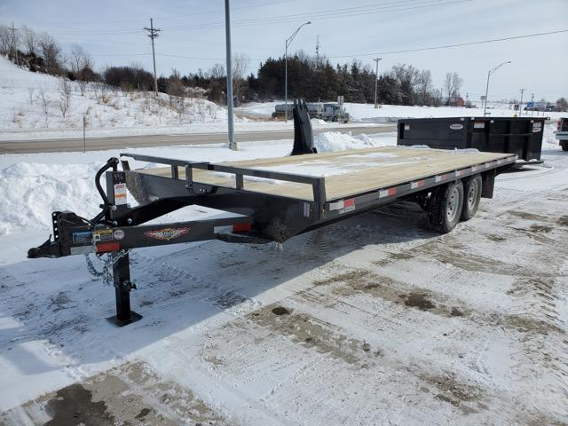 2021 H and H Trailer 102x20 Standard Duty Deckover Trailer