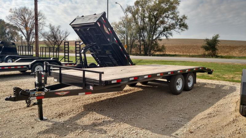2020 H and H Trailer 82x24+4 HEAVYDUTY LOPRO 14K