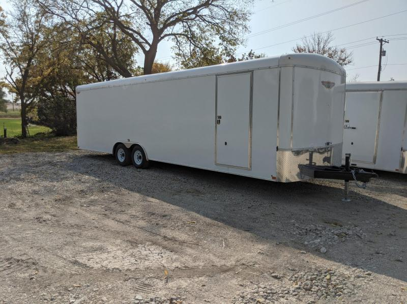 2021 H and H Trailer 8.5x28 HH Series Round Top Car Hauler En