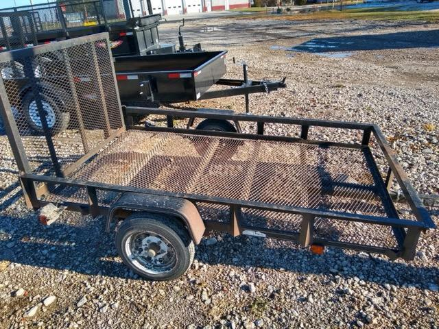 2004 Carry-On 5X8 Rail Side Utility Trailer