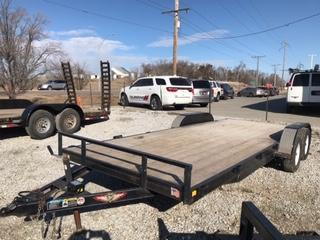 2018 H and H Trailer 18+2 Flatbed Trailer