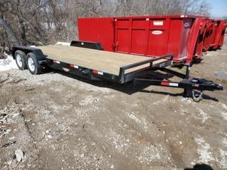 2021 H and H Trailer 82x18+2 General Duty Car Hauler Trailer