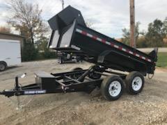 2021 Sure-Trac 6 X 10 7K SD Low Profile Dump Trailer