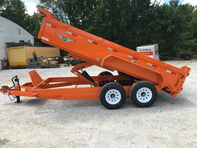 2021 H and H Trailer 83X14 DBW DUMP BOX 14K