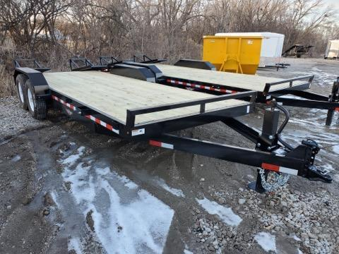 2021 H and H Trailer 82x18+2 Industrial Equipment Trailer  14