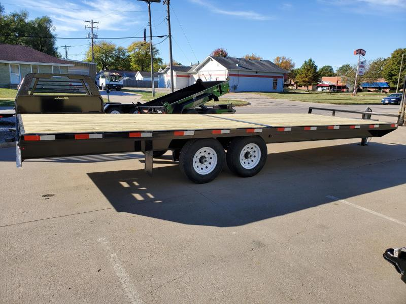 2021 H and H Trailer 102x24 Standard Duty Deckover Trailer
