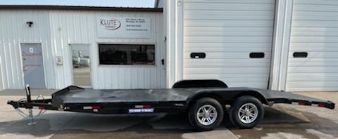 2021 Sure-Trac 16+4 Steel Deck 10K Equipment Trailer