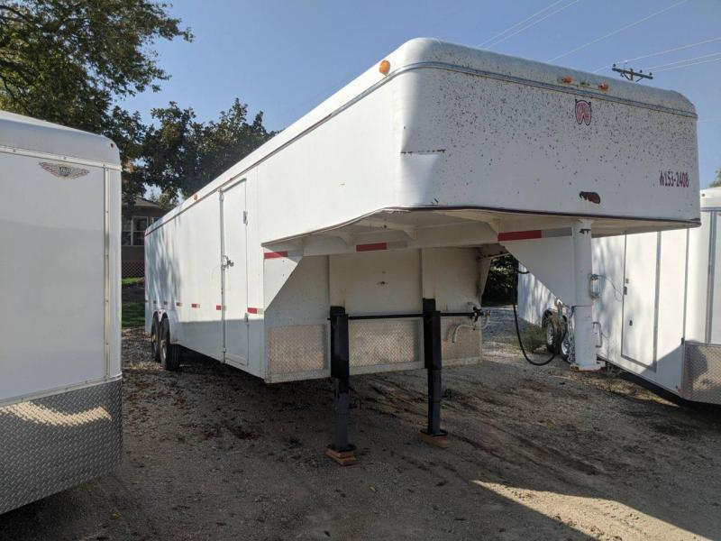 2012 W-W Trailer 8x24 GN Enclosed Cargo Trailer