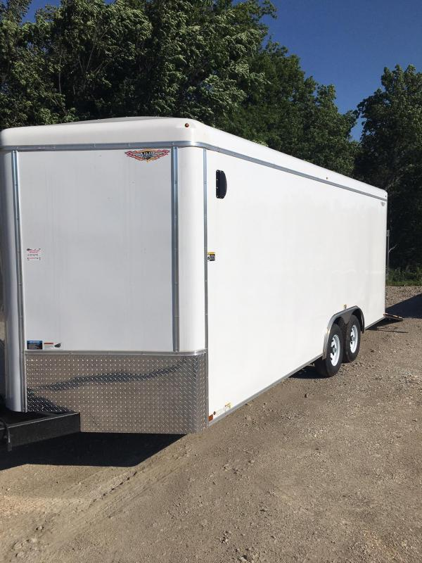 2021 H and H Trailer 101X20 HH R-TOP CARHAUL VNOSE 10K CARGO
