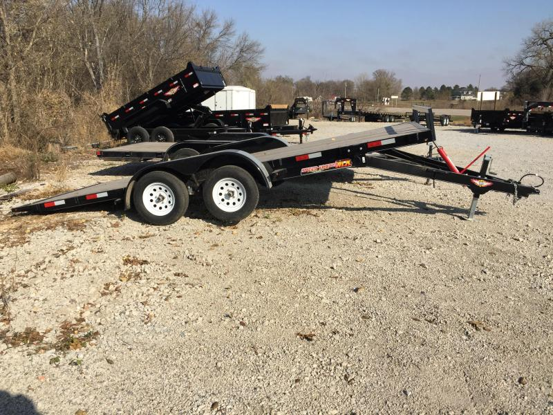 2020 H and H Trailer 82X18 MX SPEEDLOADER 7K