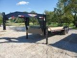 2022 H and H Trailer H8226EXGN-140 Equipment Trailer
