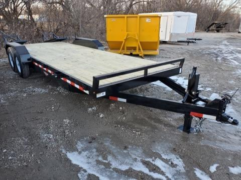 2021 H and H Trailer 82x20+2 Industrial Equipment Trailer  14