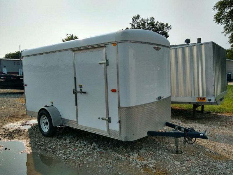 2012 H and H Trailer 6x12 Enclosed Cargo Trailer