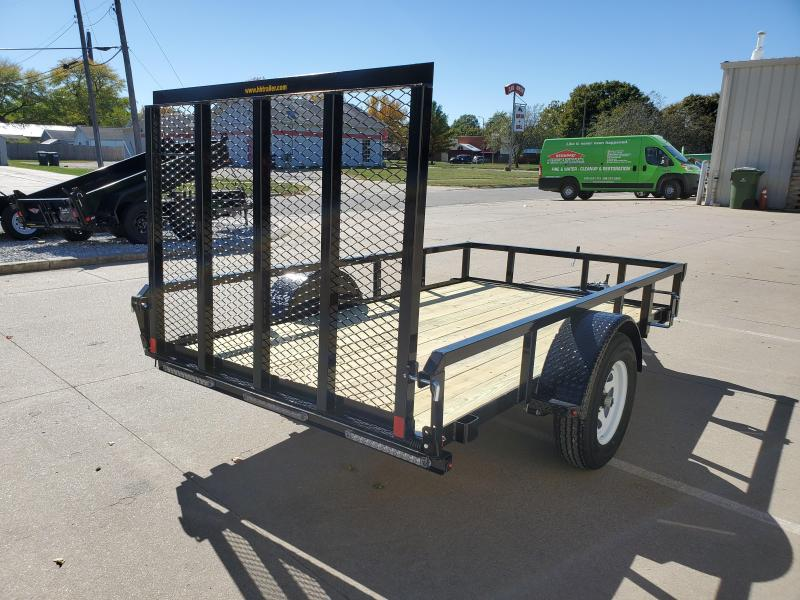2021 H and H Trailer 66X10 STEEL RAIL SIDE 3.5K