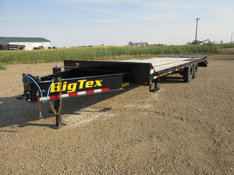 2022 Big Tex Trailers 20' PINTLE HITCH Equipment Trailer