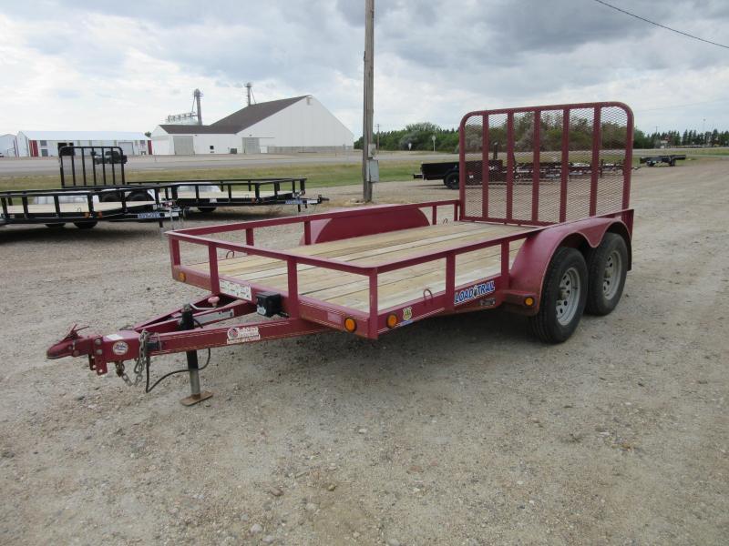 2014 Load Trail UE07 - Tandem Axle Utility 77 x 12 Utility Trailer